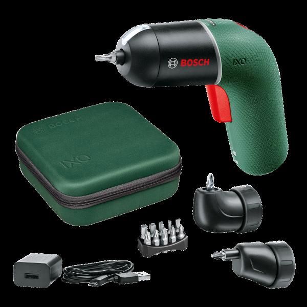 IXO 6 Set – mit Winkelaufsatz und Exzenteraufsatz - Set – Exzenter- und Winkelaufsatz