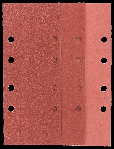 25-teiliges Schleifblatt-Set für Schwingschleifer, Körnung 60, 80, 120, 240